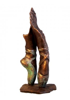 Ebano Bronze Sculptures from the Jordá Collection - Ballet Shoes