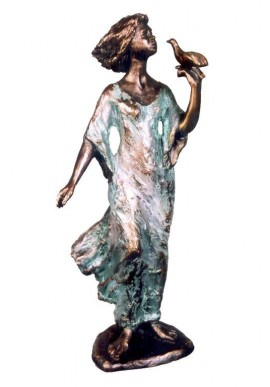 Ebano Bronze Sculptures from the Jordá Collection - Violinist