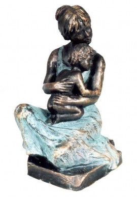 Ebano Bronze Sculptures from the Jordá Collection - Maternity