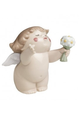 Nao Porcelain Figurines from the Cheeky Greetings Collection - Cheeky Santa