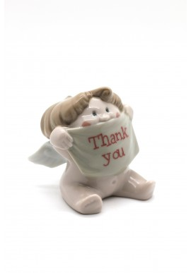 Nao Porcelain Figurines from the Cheeky Greetings Collection - Peace & Friendship