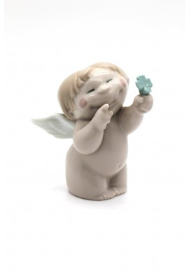 Nao Porcelain Figurines from the Cheeky Greetings Collection - A Big Thank You