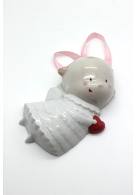 Decorative Nao figurine porcelain from the love collection. - Pretty Little Angel