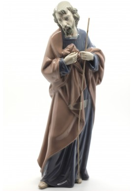 Nao Porcelain Figurines from the Religion Collection - Saint Joseph