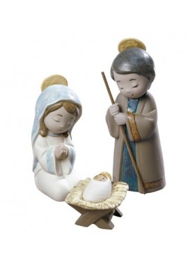 Nao Porcelain Figurines from the Religion Collection - Nativity Set
