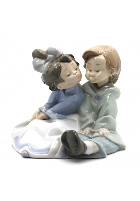 Nao Porcelain Figurine Our First Kiss From The Love