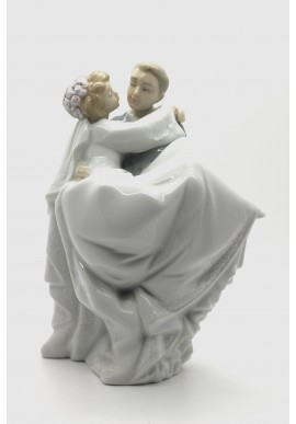 Decorative Nao figurine porcelain from the love collection. - Love Is… You and Me