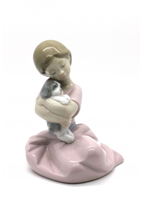 Nao porcelain figurine my puppy love from the animals collection - Consider including lladro porcelain figurines home decoration ...