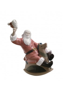 Nao Porcelain Figurines from the Christmas Season Collection - What a Fun Ride!