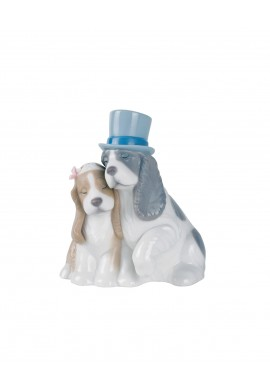 Decorative Nao figurine porcelain from the love collection. - Together Forever