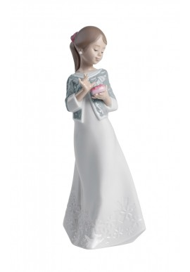 Decorative Nao figurine porcelain from the love collection. - A Gift from the Heart