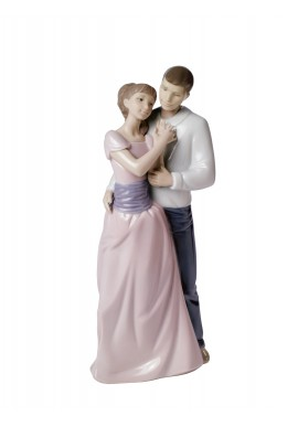 Decorative Nao figurine porcelain from the love collection. - Dreams of Love