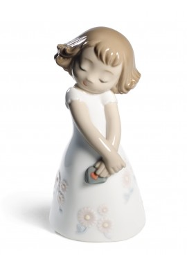 Decorative Nao figurine porcelain from the love collection. - Love Is... Her