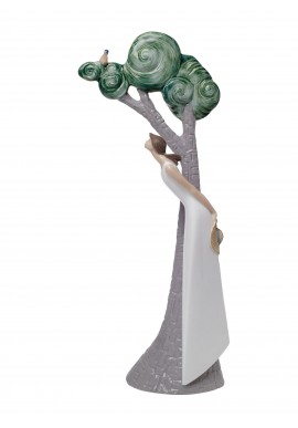 Decorative Nao figurine porcelain from the love collection. - Song in the Trees