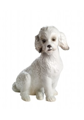 Nao Porcelain Figurines from the Animals Collection - Sweet Poodle