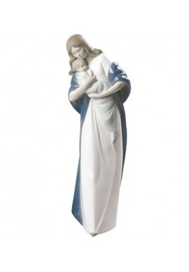 Decorative Nao Porcelain Figurines from the Family Collection - Madonna