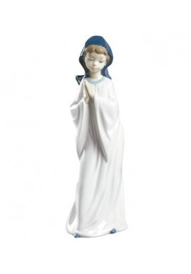 Nao Porcelain Figurines from the Religion Collection - A Child's Prayer