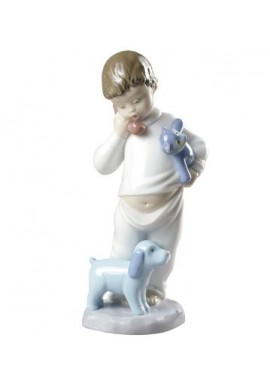 Nao Porcelain Figurines from the Animals Collection - Someone is Calling You