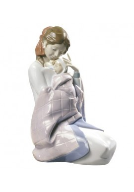 Decorative Nao Porcelain Figurines from the Family Collection - My Baby Girl