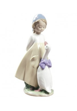 Nao by Lladro Porcelain Figurines from Youth Collection - My Friend Goose
