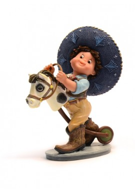 nadal porcelain figures viva mexico - My First Horse