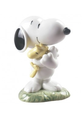 Decorative Nao Porcelain Figurines from the Fantasy Collection - Snoopy