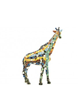 Barcino Designs Official Online Store - Decorative Mosaic Figurines Handcrafted and Hand Painted  - Mosaic Giraffe