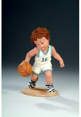 Decorative Porcelain Figurines and Bronze Sculptures at Discounted Prices. Free Shipping Available - I Love Basketball
