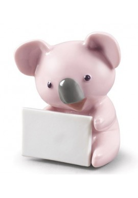 Decorative porcelain figurines by Nao Porcelain from the Childhood Collection - Koala with Message