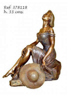 Official Online Store for Ebano Bronze Sculptures from Spain - Maria