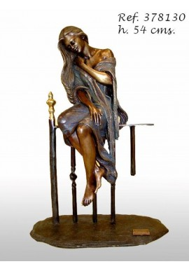 Official Online Store for Ebano Bronze Sculptures from Spain - Rebecca