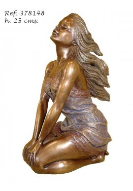 Official Online Store for Ebano Bronze Sculptures from Spain - Laura