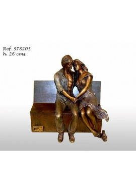 Official Online Store for Ebano Bronze Sculptures from Spain - Lovers