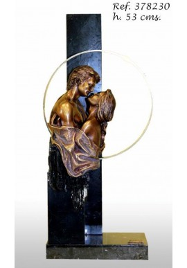 Official Online Store for Ebano Bronze Sculptures from Spain - The Kiss