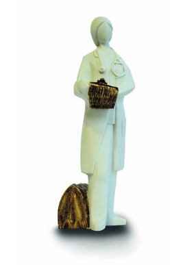 The professions figurine collection by Nadal. Nadal porcelain figurines made in spain.  - Doctor