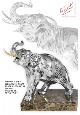 Bronze Sculptures - Discover the Complete Collection of Sculptures Handcrafted in Spain - Silver Elephant