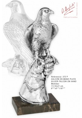 Bronze Sculptures - Discover the Complete Collection of Sculptures Handcrafted in Spain - Silver Falcon