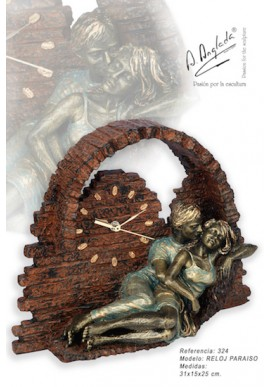 Bronze Sculptures - Discover the Complete Collection of Sculptures Handcrafted in Spain - Paradise Clock