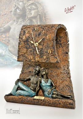 Bronze Sculptures - Discover the Complete Collection of Sculptures Handcrafted in Spain - Horizon Clock