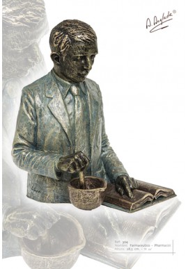 Bronze Sculptures - Discover the Complete Collection of Sculptures Handcrafted in Spain - Pharmacist/Chemist