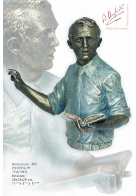 Bronze Sculptures - Discover the Complete Collection of Sculptures Handcrafted in Spain - Teacher