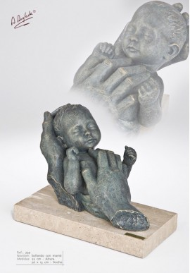 Bronze Sculptures - Dreaming with Mum
