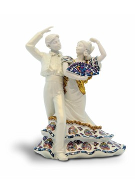Decorative Porcelain Figurines and Bronze Sculptures at Discounted Prices. Free Shipping Available - Flamenco Dance