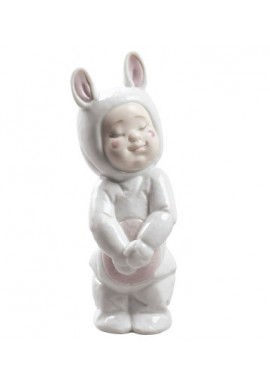 Decorative porcelain figurines by Nao Porcelain from the Childhood Collection - Bunny Jammies