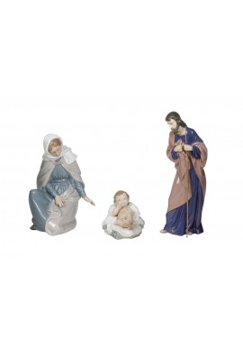 Nao Porcelain Figurines from the Religion Collection - Nativity of Jesus Christ
