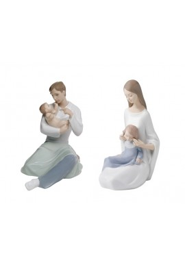 Decorative Nao Porcelain Figurines from the Family Collection -