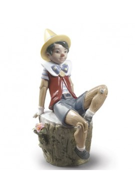 Official Lladro - Decorative Porcelain Figurines Handcrafted in Spain - Pinocchio
