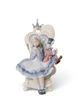 Official Lladro - Decorative Porcelain Figurines Handcrafted in Spain - Alice in Wonderland