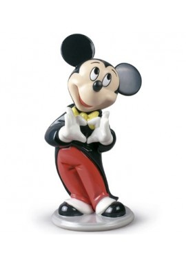 Official Lladro - Decorative Porcelain Figurines Handcrafted in Spain - Mickey Mouse
