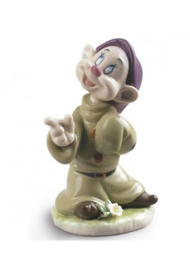 Collectible porcelain figurines and bronze sculptures - Dopey Porcelain Figurine